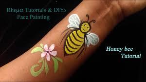 Face Painting Tutorial Kids Tattoo Honey Bee