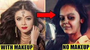 10 famous indian tv actresses without makeup look will shock you before and after makeup pics