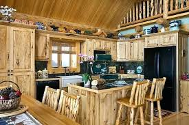 Cabin Kitchen Design Creative Awesome Inspiration