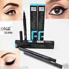 black eyeliner waterproof liquid eye liner pencil pen make up beauty estic