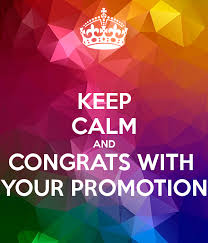 Congrats On Your Promotion Keep Calm And Congrats With Your Promotion Poster Emelie