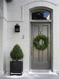 silver front door gray house paint your front door a bright colour this summer