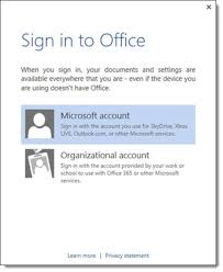 office 360 login the difference between a microsoft account and an office 365 account