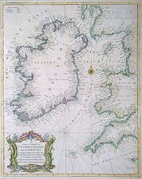 Antique Nautical Charts 18th Century Nautical Sea Chart Of