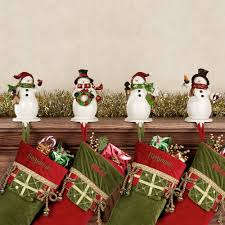 Want this: Snowmen Christmas Stocking Holder Set