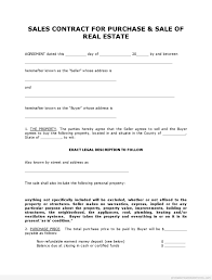 Purchase Contract Template Picture Agreement Word Free Sales