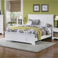 Home Styles Naples Queen Bed White Finish