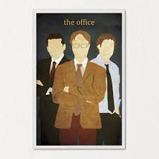the office poster. The Office Poster Alternative Movie Michael Jim Dwight Z