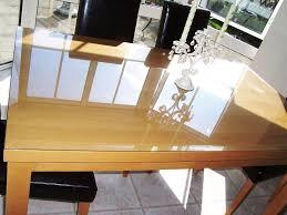 acrylic desk protector clear