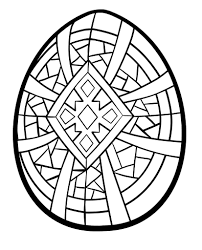 Small Picture Coloring Pages Religious Easter Egg Coloring Pages Happy Easter