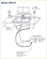 garbage disposal air switch garbage disposal switch garbage disposal push on