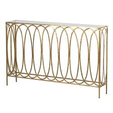 gold console table. Gold Console Table O