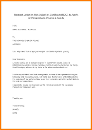 No Objection Letter Sample From Employer Fresh Noc Certificate