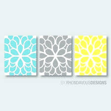 teal and gray wall art teal blue and gray bedroom teal blue yellow gray dahlia flower print trio home petals bloom teal and gray canvas wall art on yellow blue and grey wall art with teal and gray wall art teal blue and gray bedroom teal blue yellow