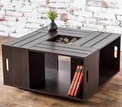 wine crate coffee table diy ideas