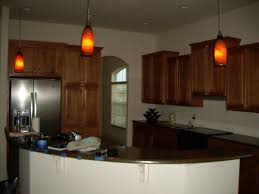 awesome kitchen decoration with red bottle glass mini pendant