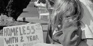 Image result for homeless mother child
