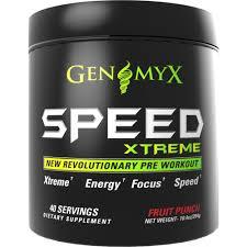genomyx sd xtreme pre workout 40 servings