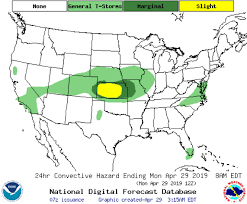 Convective Outlook Chart Convective Outlook