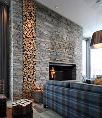 Split Stone Fireplace With TV Modern Family Room Detroit By. Outdoor  Stacked Stone Fireplace Contemporary Patio Hawaii By. Fireplace Hearth  Ahrens Fireplace ...