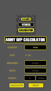 Army Fitness Workout Exercises Apft Calculator By Aysha Sehar