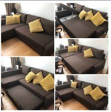 ikea friheten sleeper sofa furniture