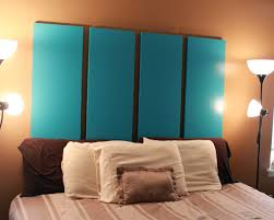 blue folding closet doors headboard