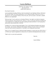 How To Write Cover Letter For Professor Job Granitestateartsmarket Com