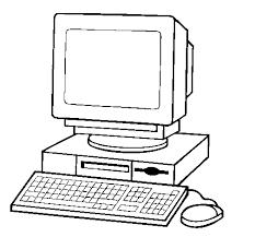 Disegno Di Computer 2 Da Colorare Acolorecom