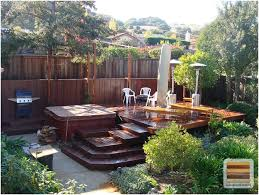Small Picture Backyards Awesome Backyard Decking Ideas Deck Design Ideas