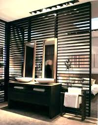 wood wall divider room dividers partitions wooden collection partition ideas bathroom kitchen design