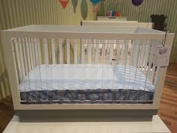 bedroom babyletto harlow crib with acrylic for nursery furniture