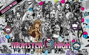monster high wallpaper monster high backgrounds for pc high