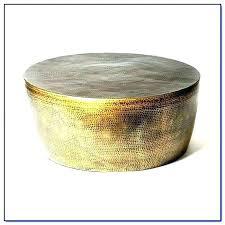 round metal drum coffee table marvelous metal drum coffee table round metal coffee tables hammered metal