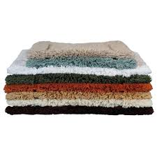 cotton bathroom rugs cotton non slip bath rug photo 1 cotton bath rugs with latex backing