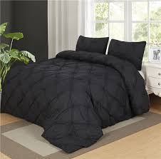 image of duvet covers twin black
