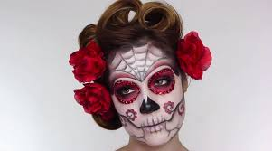 easy sugar skull makeup look inspired by mexico s day of the dead stylish eve