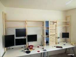 ikea office shelving. Ikea Desk Shelves Desktop Shelving Hack Shelf . Office E
