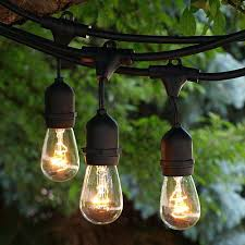 Italian String Lights Home Depot Led Edison String Lights Vintage Style Bistro Lighting Fixtures Home 12