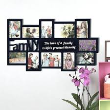 b3374837 collage wall frames family black wood decorative collage wall hanging photo frame wall collage frames