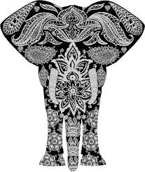 Elephant Pattern New Collection Of Free Elephant Drawing Pattern Download On UbiSafe