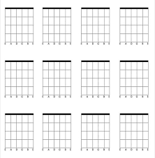 Blank Guitar Chord Diagrams Wiring Diagrams