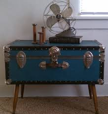 steamer trunk coffee table chest coffee table multifunction furniture