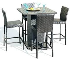 tall bistro table. High Top Patio Table Set Adorable And Chairs . Tall Bistro D