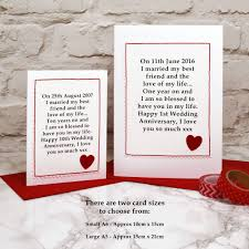 there are two sizes of card to choose from