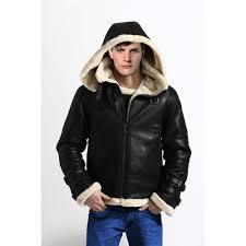 ww2 flight er fully fur lined genuine sheepskin leather jacket