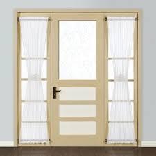 half door blinds.  Half Forrester Sidelight Single Curtain Panel With Half Door Blinds R
