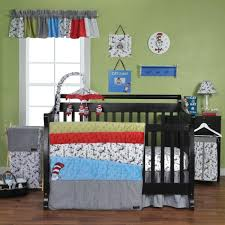 dr seuss cat in the hat 3 piece crib bedding set