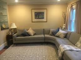 Living Room With Sectional Reese Curved Sectionals Modern Sectionals Modern Living Room