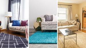 how to choose a rug size options for living room